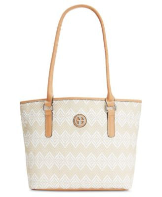 Giani Bernini Diamond Woven Tote, Only at Vogily