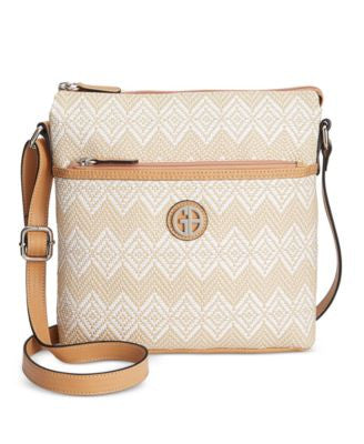 Giani Bernini Diamond Woven Crossbody, Only at Vogily