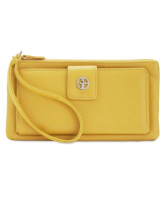 Giani Bernini Softy Leather Medium Grab & Go Wallet & Wristlet, Only at Vogily