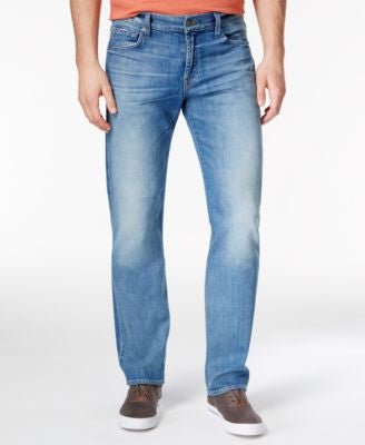 7 For All Mankind Men's Straight-Fit Eastern Light Jeans