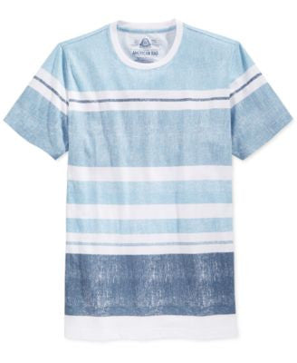 American Rag Men's Stripe V-Neck T-Shirt, Only at Vogily