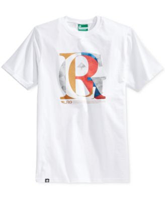 LRG Men's Blended Graphic-Print Logo T-Shirt