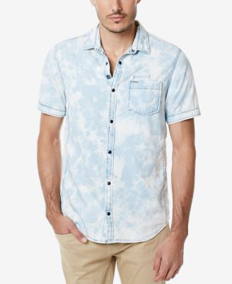 Buffalo David Bitton Men's Sixel Short Sleeve Button-Front Shirt
