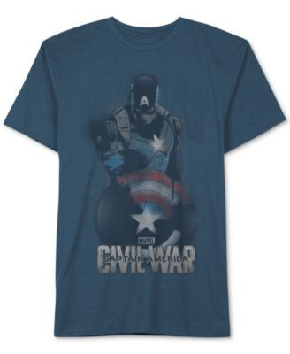 Jem Men's Captain America Civil War T-Shirt