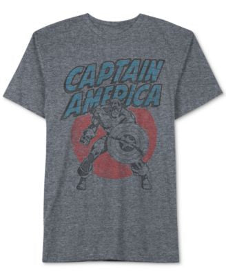 Jem Men's Captain America T-Shirt