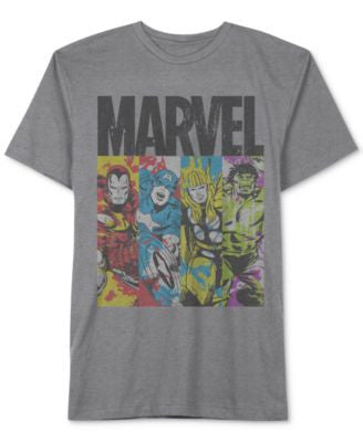 Jem Men's Marvel Panel T-Shirt