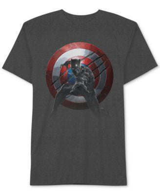 Jem Captain America Men's Panther Vs. T-Shirt