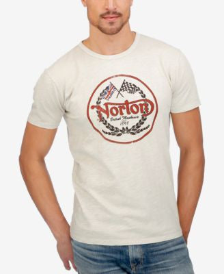 Lucky Brand Men's Norton Logo Bball T-Shirt