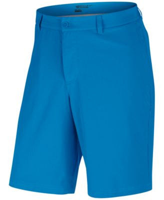Nike Men's Flat-Front Stretch-Fabric Golf Shorts