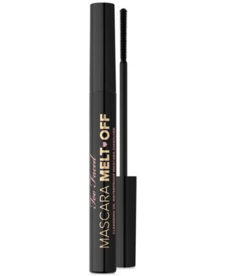 Too Faced Mascara Melt Off Cleansing Oil Waterproof Mascara Dissolver