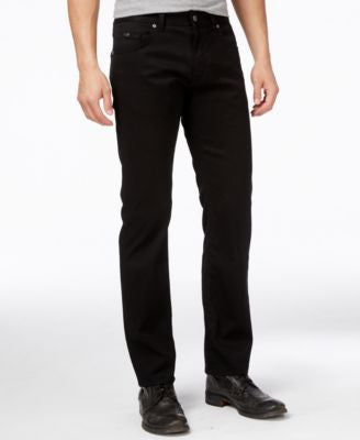Hugo Boss Green Men's Maine Black Wash Jeans