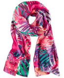 Calvin Klein Tropical Silk Scarf