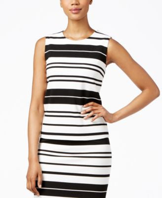 Calvin Klein Sleeveless Striped Shell