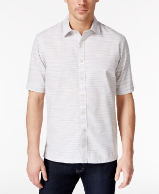 Tasso Elba Short-Sleeve Printed Shirt