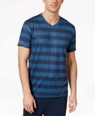 32 Degrees Men's V-Neck Pattern T-Shirt