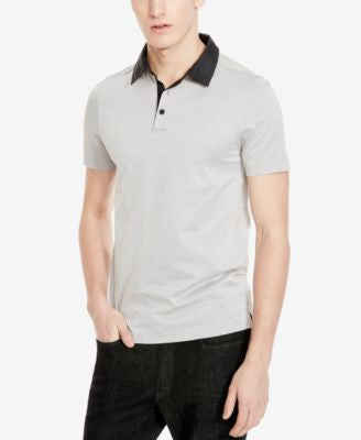 Kenneth Cole New York Men's Diamond Jacquard Polo