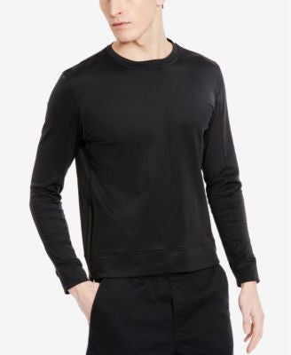 Kenneth Cole New York Men's Bonded Fleece Crew-Neck Sweatshirt