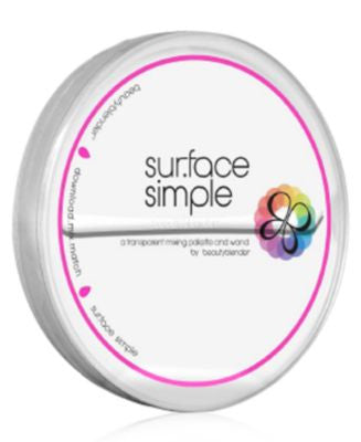 beautyblender® sur.face simple clear makeup palette