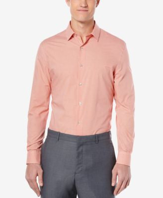 Perry Ellis Men's Gingham Long-Sleeve Shirt