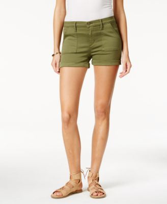 Buffalo David Bitton Faith Cuffed-Hem Denim Shorts