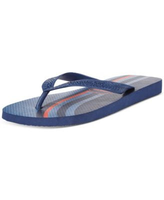 Havaianas Men's Top Basic Vertical Stripe Flip Flops