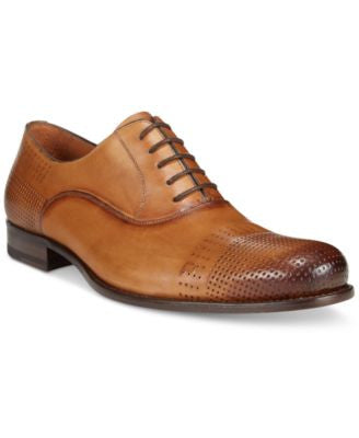 Mezlan Men's Perf Cap Toe Oxfords