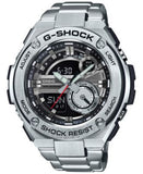 G-Shock Men's Analog-Digital Silver-Tone Resin Bracelet Watch 59x52mm GST210D-1A