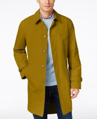 Tommy Hilfiger Men's Finn Solid Raincoat