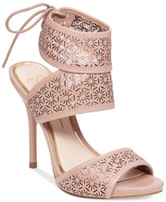 Jessica Simpson Barcia Cutout-Detail Dress Sandals