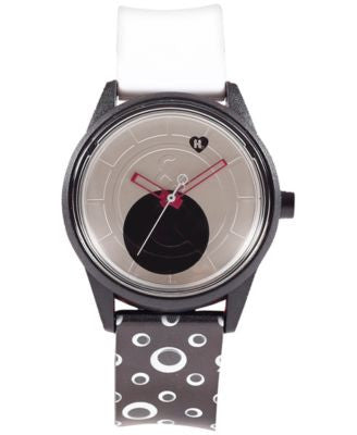 Harajuku Lovers Unisex Googly Eye Designed by Gwen Stefani Printed Strap Watch 40mm HL2414