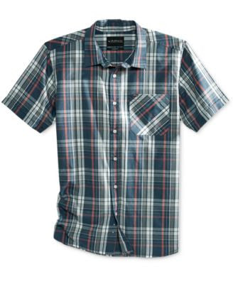 Rip Curl Men's Floyd Plaid Flannel Short-Sleeve Shirt