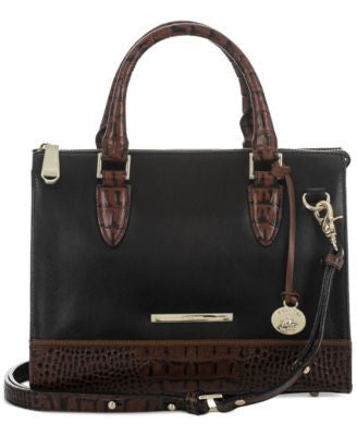 Brahmin Tuscan Tri-Texture Anywhere Convertible Satchel