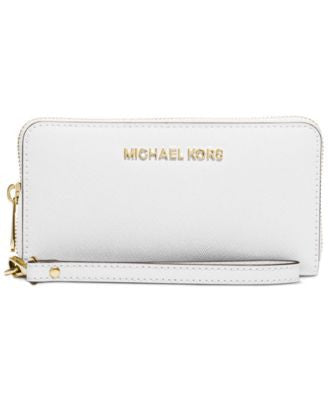 MICHAEL Michael Kors Specchio Jet Set Travel Flat Multifunction Wallet