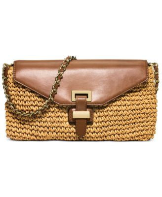 MICHAEL Michael Kors Straw Naomi Large Clutch