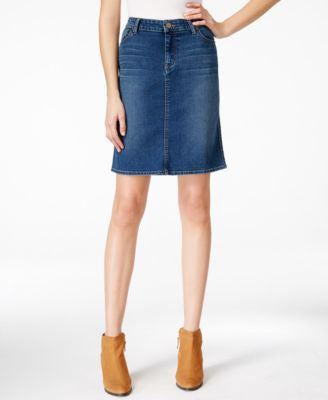 Maison Jules Denim Pencil Skirt, Only at Vogily