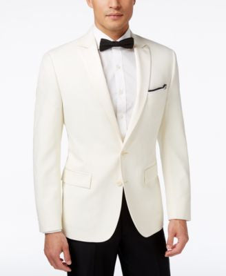 Ryan Seacrest Distinction Men's White Slim-Fit Sport Coat, Only at Vogily