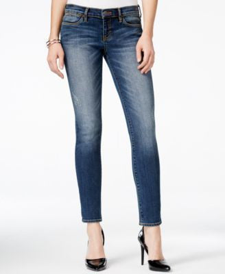 Dittos Selena Authentic Dark Wash Ankle Skinny Jeans