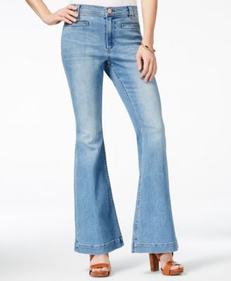 Dittos Amy Heritage Antique Vintage Wash Flared Jeans