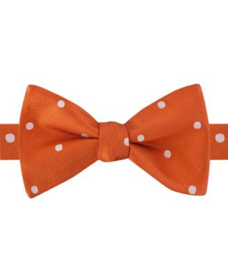 Tommy Hilfiger Men's Medium-Dot To-Tie Bow Tie