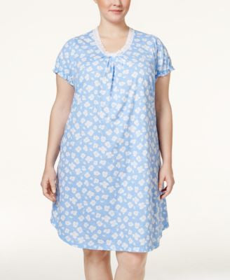 Lauren Ralph Lauren Plus Size Floral Nightgown