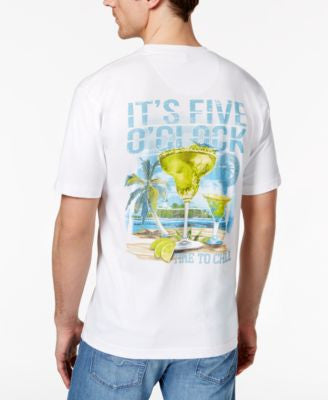 Newport Blue Men's Big and Tall It's 5 O' Clock T-Shirt