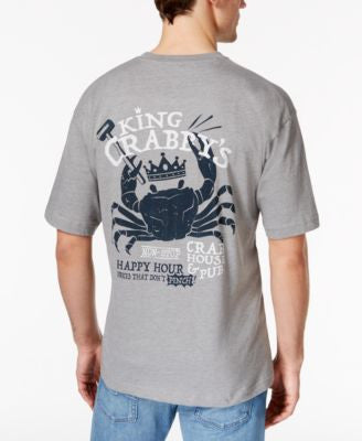 Newport Blue Men's Big and Tall King Crabby House T-Shirt