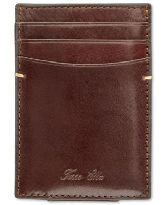 Tasso Elba Men's Invechiato Front-Pocket Wallet, Only at Vogily