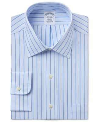 Brooks Brothers Men's Regent Classic-Fit Striped Dress Shirt