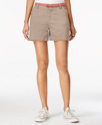 Maison Jules Maddie Belted Shorts
