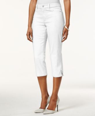 NYDJ Ariel Cropped Colored Jeans