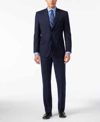 Marc New York by Andrew Marc Men's Slim-Fit Navy Suit