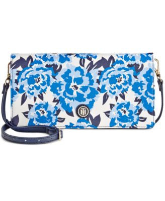 Tommy Hilfiger TH Printed Convertible Crossbody Clutch