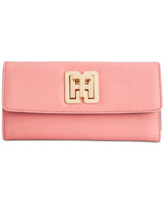 Tommy Hilfiger TH Turnlock Trifold Wallet