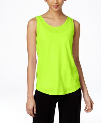 MICHAEL Michael Kors Split-Back Tank Top